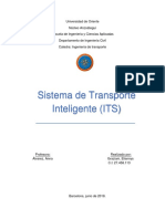 Sistema de Transporte Inteligente o ITS