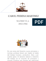 Expocision Derecho Laboral en Power Point