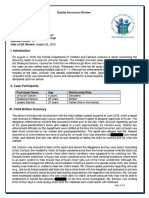DCF report for Je'hyrah Daniels