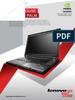 ThinkPad W530 Product Brochure