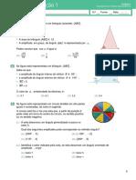 Teste de Avaliação 3- Funções Reais de Variável Real(Enunciado e Soluções)