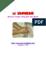 Tips 12 Langkah Mencuci Tangan