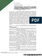 Sentencia Interlocutoria ADEP