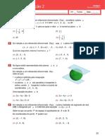 Teste de Avaliação 2- Geometria analítica(enunciado e soluções) .docx