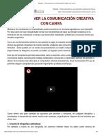 Eduteka - Cómo Promover La Comunicación Creativa Con Canva