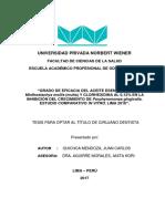 TITULO - Quichca Mendoza, Juan Carlos