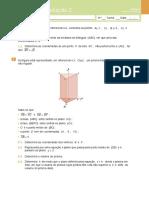 Teste de Avaliação 2- Geometria Analítica(Enunciado e Soluções)
