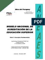 MODELO NACIONAL DE