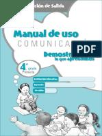 Manual Salida Comunicacion 4to Grado (1)