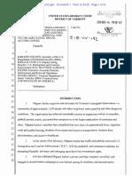 Migrant Justice v Nielsen Complaint 2018-11-14