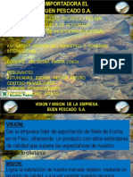 Plan de Marketing Empresa Pescado