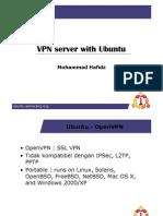 VPN Server With Ubuntu