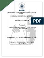 Practica Quimica 1 BUAP