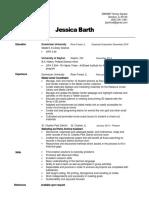 barth  jessica resume