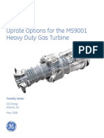 Ger 3928c Uprate Options Ms9001 Heavy Duty Gas Turbine