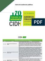 Calendario CIDH240esp