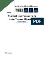 Manual de Auto Transe Hipnótico - Projeto Hipnoser