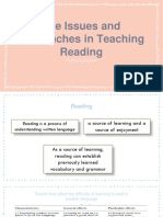 issues in teaching reading