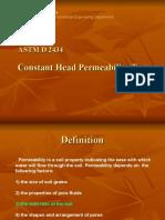 Constant Head