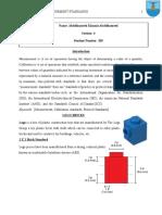 Metrology Report