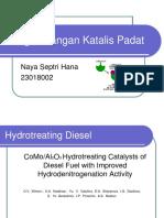 Hydrotreating Diesel Catalyst