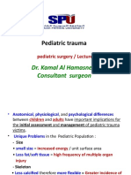 pediatric truma.