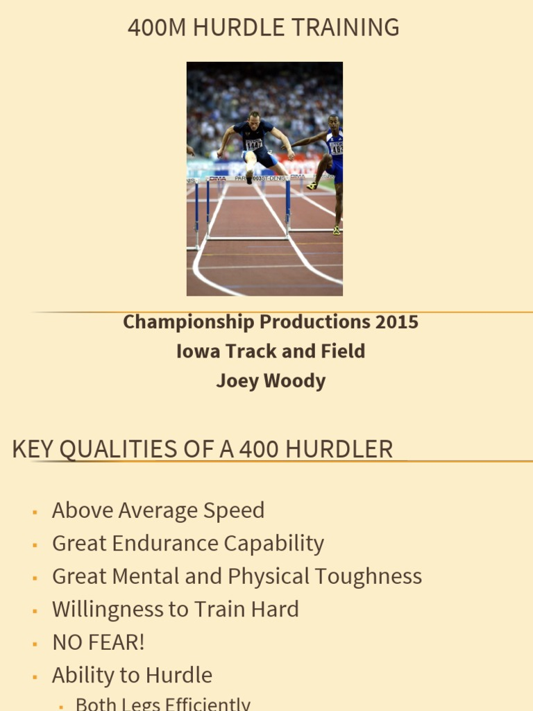 Woody_400M Hurdles Full Scale Powerpoint2 pdf   Track And