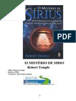 El Misterio de Sirio - Robert Temple