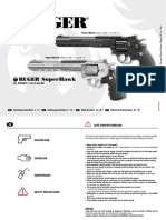Ruger Super Hawk - Airsoft Manual