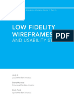 Low-Fi Wireframes BismaMunawar