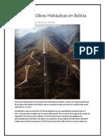 Principales Obras Hidráulicas en Bolivia.docx