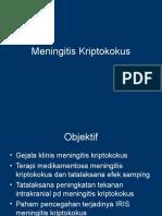 Meningitis Kriptokokus