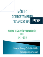 MDO Clima Organizacional