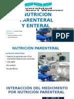 INTERACCIÓN CON NUTRICIÓN PARENTERAL-ENTERAL.pptx