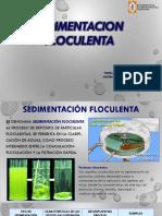 Sedimentación-Floculenta