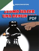 Como denunciar SAFCO