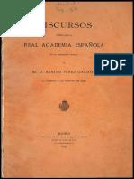 La Sociedad Presente Como Materia Novelable.- Pérez Galdós