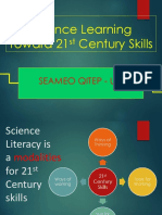 science learning toward 21 st century skills.ppt