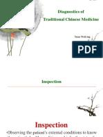 Inspección en medicina tradicional china