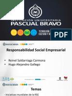 PRESENTACION INICIATIVAS MUNDIALES DE R.S.E.