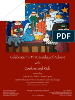 1st Sunday of Advent 2018 Poster