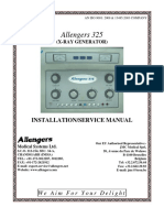 Allengers 325 RF - Installation and Service Manual