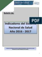 indicadores del sistema nacional de salud 2016-2017