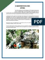 El Narcotráfico en El Perú