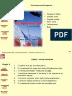 The Enterpreneurial Prespective.ppt