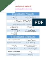 Formulario Consolidación