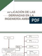 Aplicación de Las Derivadas en La Ingeniería Ambiental.