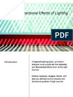 Color and Directional Effects of Lighting