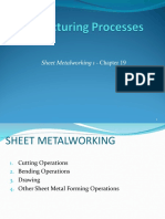 Sheet Metalworking 1 - Chapter 19