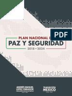 Plan Nacional de Paz y Seguridad